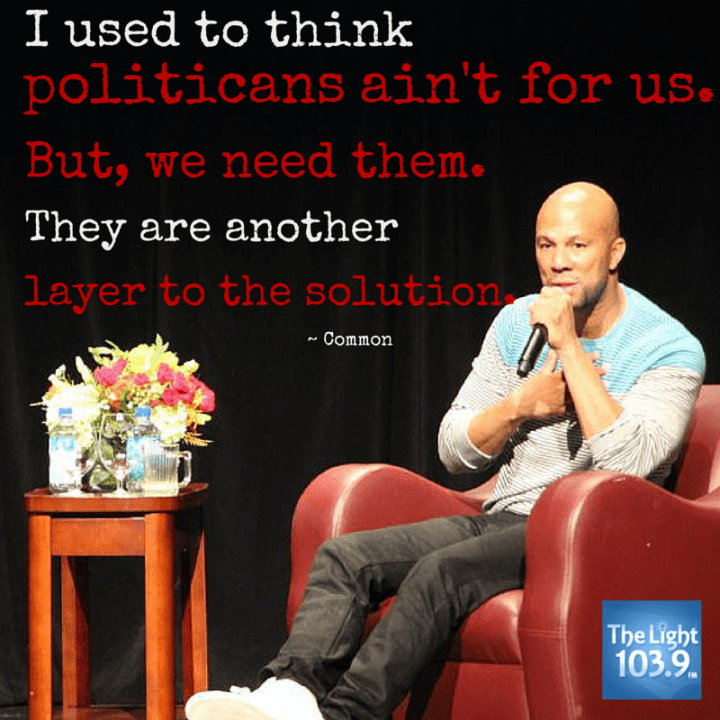 Common's Life Lessons