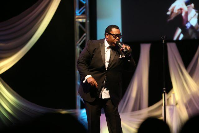 Damon Little at Lamplighter Awards 2014