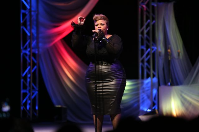 Tamela Mann Performs at Lamplighter Awards 2014