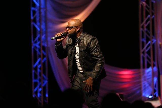 J. Moss at Lamplighter Awards 2014