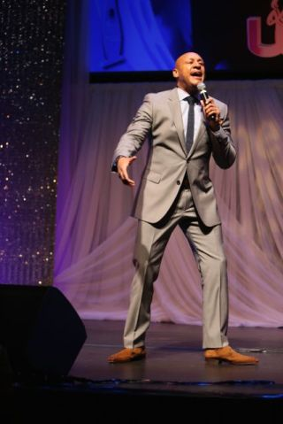Brian Courtney Wilson at Lamplighter Awards 2015 Performers