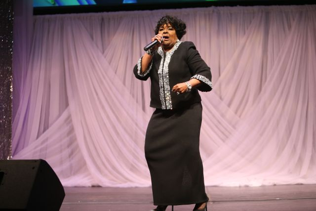 Shirley Caesar at Lamplighter Awards