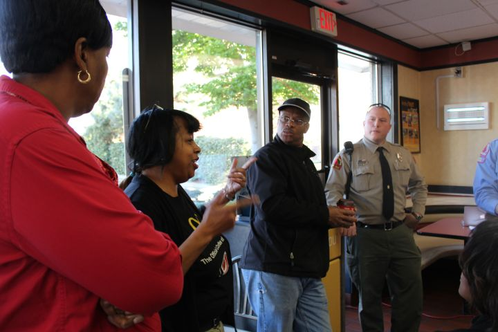 Raleigh Police Meet and Greet