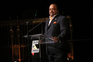 Roland Martin Addresses Audience At The ColorofChange.org 10 Year Anniversary Gala