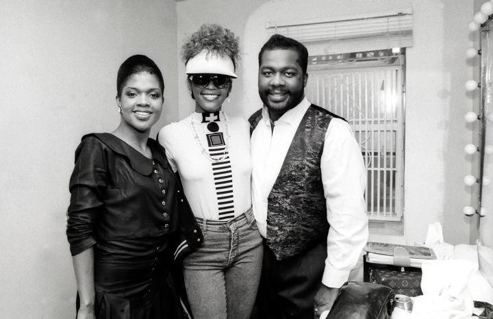 Portrait Of Whitney & The Winans