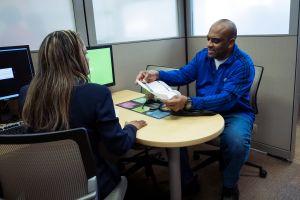 Tax Preparers Help Last-Minute Filers On Tax Day