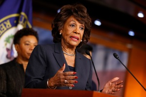 Rep. Maxine Waters Holds Press Conference On Russian Ties To Trump Administration