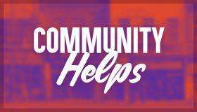 community helps