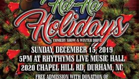 Griff's HaHa Holiday Comedy Show and Winter Drive
