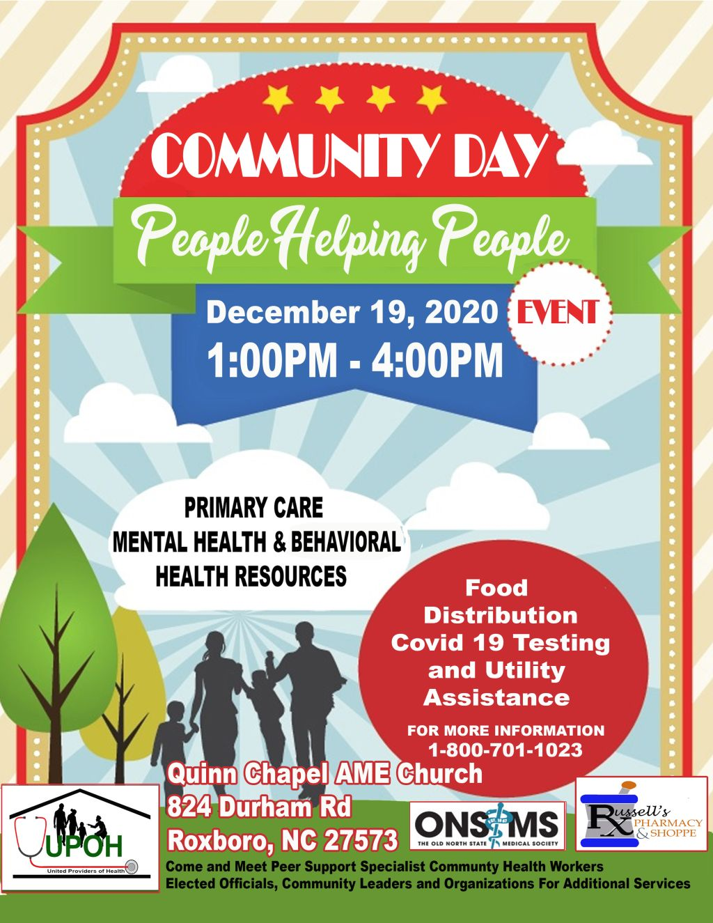 UPOH Community Day