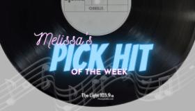Melissa Wade Pick Hit of the Week