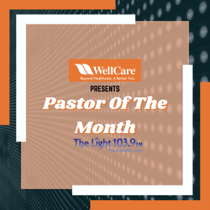Pastor Of The Month February