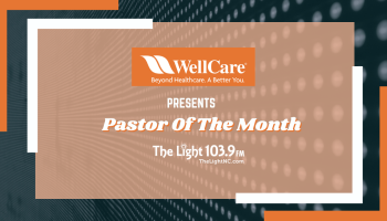 Pastor Of The Month Raleigh
